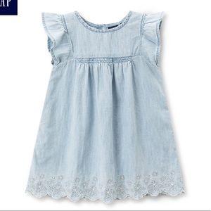 💚2/$30 GAP baby denim dress